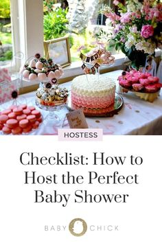 Checklist How to Host the Perfect Baby Shower Checklist How to Host the Perfect Baby Shower BABY CHICK thebabychick Pregnancy Here s a baby shower checklist that outlines everything nbsp hellip Baby Shower Host, Baby Shower Backdrop, Boho Baby Shower, Shower Party, Shower Games, Baby Shower Parties, Baby Shower Decorations, Baby Shower Trophy, Baby Shower Garland