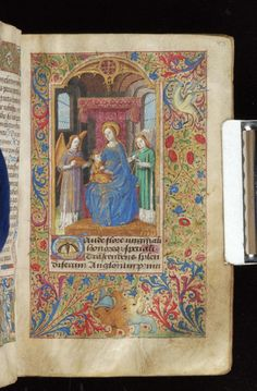 Book of Hours, MS M.815 fol. 83r - Images from Medieval and Renaissance Manuscripts - The Morgan Library & Museum