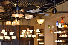 The Lighting Options Are Bright At The Fulton Homes Design Center In Tempe,  AZ!