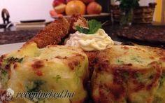 Brokkolis burgonyapogácsa recept fotóval Baked Potato, Mashed Potatoes, Fish, Chicken, Baking, Ethnic Recipes, Main Courses, Bread Making, Main Dishes