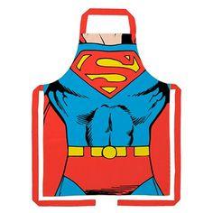 Avental Corpo Superman