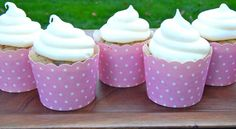 Carrot Cake Cupcakes with Maple Cream Cheese Frosting at http://thedessertchronicles.com