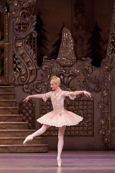 Melissa Hamilton as The Sugar Plum Fairy in The Nutcracker