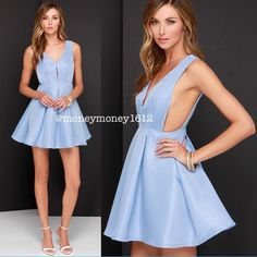 NEW Hopes and Dreams Powder Blue Skater Dress BRAND NEW NO TAG. Our Hopes and Dreams Powder Blue Skater Dress is a vision of wonder and delight, with its fit and flare design and pretty blue hue! Woven medium-weight poly forms a structured sleeveless bodice with a curving V front joined at the center. Open sides meet the fitted skater skirt that holds plenty of volume thanks to charming box pleats. Exposed back silver zipper with clasp. Skirt is lined. 100% Polyester. Hand Wash Cold…