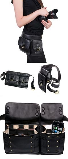 Hip Leather Bag