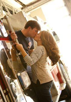 firetruck firefighter #couplepic