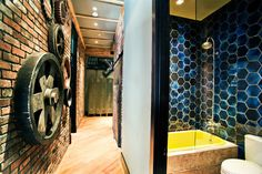Yaletown Apartment Renovation - modern - entry - vancouver - by Craftworks Construction Inc