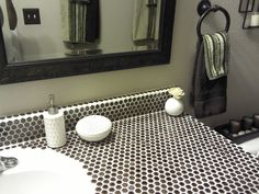Bathroom Tile Project