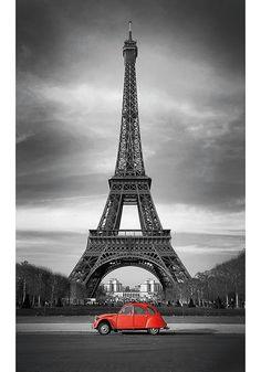 Paris, die Stadt an der Seine. Wohl das bekanntestes Wahrzeichen ist der Eifelturm, welcher in diesem Motiv wunderbar in Szene gesetzt wurde. Artikeldetails: Dekorative Fototapete, Maße (B/H): ca. 150x250cm, 3 Bahnen, Material/Qualität: Hochwertige Vliestapete, Wissenswertes: Geeignet für jeden tapezierfähigen Untergrund, feuchtigkeitsbeständig und formstabil, über Jahre farbecht, scheuer...