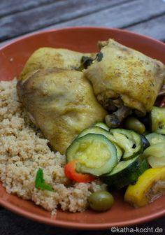 Hähnchen Tajine wie in Marokko - Katha-kocht!