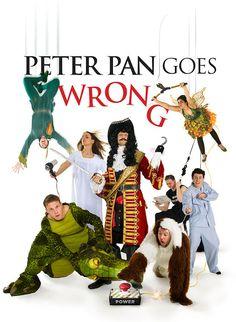 Minst En Gång i Veckan: PETER PAN GOES WRONG, 86 Apollo Theatre, Shaftsbur...