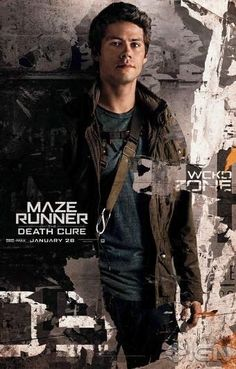 Official character posters for the Death Cure movie - Thomas