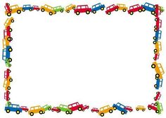 Borders For Paper, Borders And Frames, Sheep Template, Cartoon Template, School Binder Covers, Transportation Birthday, Frame Border Design, Disney Cars Party, Diy And Crafts