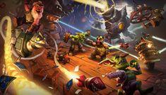 Goblins vs Gnomes Cinematic, Jason Kang on ArtStation at http://www.artstation.com/artwork/goblins-vs-gnomes-cinematic