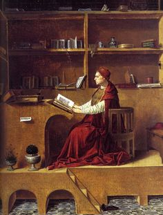 San Girolamo nello studio-Antonello da Messina