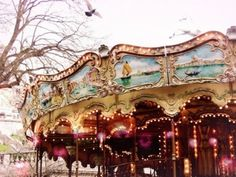 Old Carousels are so much Fun!
