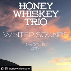 Don't forget our final #free #wintersounds show is today at 4pm with @honeywhiskeytrio at #weholibrary - come on by! Weho.org/arts for details