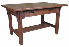 Tiger oak desk/library table..appreciate the history