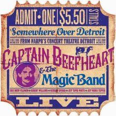 Captain Beefheart & the Magic Band - Detroit, Dec. 1980
