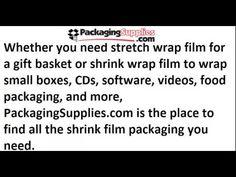 Shrink Wrap Packaging