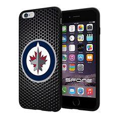 Winnipeg Jets 2 Black Net NHL Logo WADE4832 iPhone 6+ 5.5 inch Case Protection Black Rubber Cover Protector WADE CASE http://www.amazon.com/dp/B013NYJA78/ref=cm_sw_r_pi_dp_97ACwb1Q7WZXK