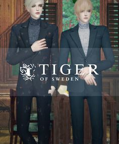 My Sims 4 Blog: Tiger of Sweden Suits by SAC