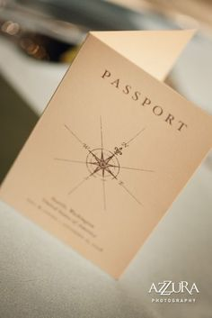 Elegant Travel Themed Wedding | Dallas, New York, and Seattle ...