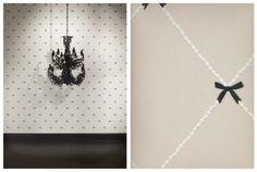 wall paper bows