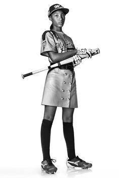 Mo'ne Davis Baseball Player - Mo'ne Davis Little League World Series Pitch - Harper's BAZAAR Magazine  www.findaballer.com