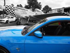 Mustangs at Goodwood