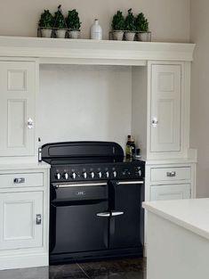 Cuisinière AGA SixQuatre Avec Table De Cuisson Gaz Meubles - Cuisiniere four chaleur tournante gaz pour idees de deco de cuisine