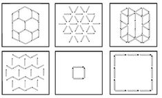 Pattern Blocks, Block Patterns, Kindergarten, Preschool, Learning, Home Decor, Occupational Therapy, Memory Games, Dimensional Shapes
