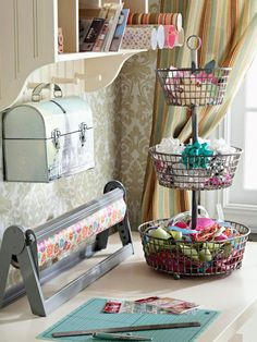 Cute craft storage