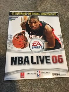 Nba Live 06 By Prima 2005 Official Strategy Guide Nba Live