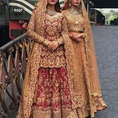 New design Pakistani Fashion & Wedding Dresses Pakistani Wedding Outfits, Indian Bridal Outfits, Pakistani Wedding Dresses, Pakistani Dress Design, Wedding Attire, Asian Bridal Dresses, Wedding Dresses For Girls, Party Wear Dresses, Wedding Dress Styles