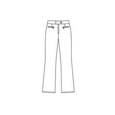 1/10 124 ski pants