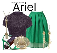 A prom inspired look from Disney's Ariel
