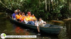 Conocidos periodistas de San Martín en visita a Rio Romero, Agencia de Turismo Sacha Tuna