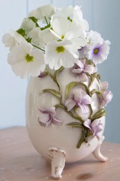 """This soft fragile decoration is from our feature """"Flair with Flowers"""""""