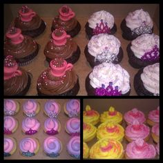 Princess Tea Party Cupcakes