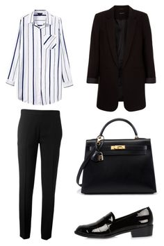 """""""Basic black"""" by shanisiavniel on Polyvore featuring mode, Chloé, New Look en River Island"""
