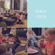 m and m race - minute to win it games