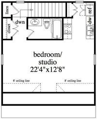 1000 images about garage apartment plans on pinterest for 300 sq ft apartment floor plan