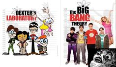 I loved Dexter... before he became the Good Serial Killer.... And I love the Big Bang Theory!