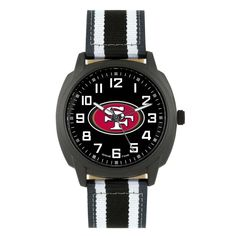 e16ef6f84db San Francisco 49ers Sleek Ice Men s Wrist Watch