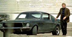 """1968 Ford Mustang 390 GT from the movie """"Bullitt"""" starring Steve McQueen."""