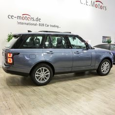 Range Rover My2018 3.0l Tdv6 Hse Byron Blue Ebony Jcl56 - Buy Hse Ebony Panoramic Keyless Handsfree Terrain All Soft Close Product on Alibaba.com Used Luxury Cars, Luxury Cars For Sale, Car In The World, Range Rover, Rear Seat, Stuff To Buy, Blue, Beautiful, Range Rovers
