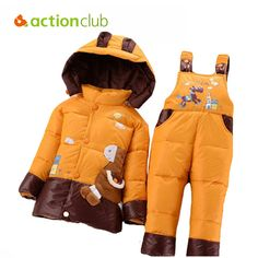 Cool NEW 2015 winter children clothing sets duck down jacket sets pants-jacket hooded baby girls winter jacket & coat Pony pattern - $59.56 - Buy it Now!