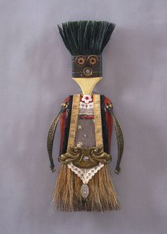 ASSEMBLAGE ART DOLL  Mix media assemblage by CastOfCharacters23