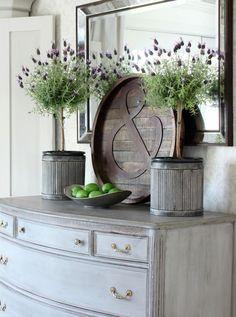 Lavender Topiaries i